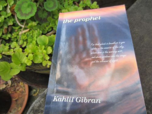 Book, The Prophet by Kahil Gibran
