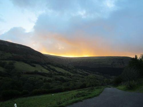 Sunrise Capel-y-ffin