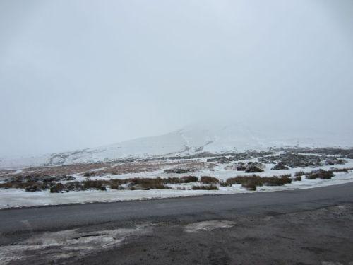 Snowy Hay Bluff
